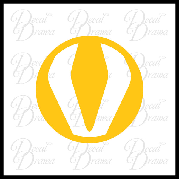 Silk Spectre symbol, Watchmen-inspired, DC Comics Vinyl Car/Laptop Decal