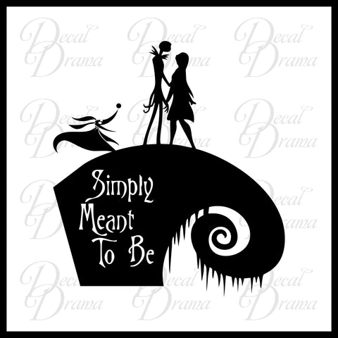 Simply Meant to Be, Nightmare Before Christmas-inspired ...