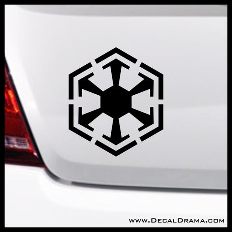 Sith Order emblem, Star Wars-Inspired Fan Art Vinyl Wall Decal