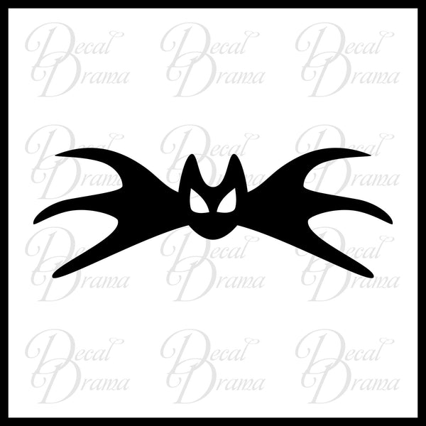 Jack Skellington's Bat, Nightmare Before Christmas-inspired Fan Art Vinyl Car/Laptop Decal