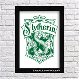 Slytherin House Crest, Harry-Potter-Inspired Fan Art Vinyl Decal