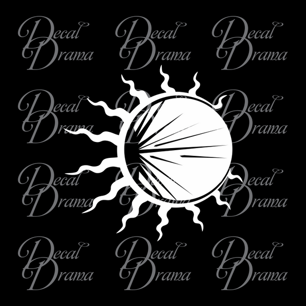Solar Eclipse of the Black Sun, The Witcher Netflix-inspired Car/Laptop Decal