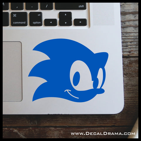 Sonic the Hedgehog, Retro Video Games-inspired Vinyl Car/Laptop Decal
