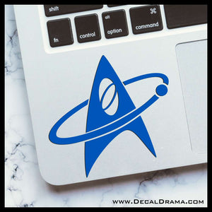 Star Trek Science Communicator insignia Vinyl Car/Laptop Decal