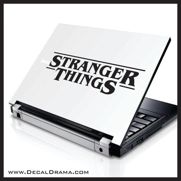 Stranger Things title logo Fan Art Vinyl Decal