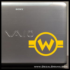 Wario, Super Mario Bros video game-inspired Vinyl Car/Laptop Decal