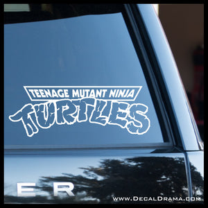 Teenage Mutant Ninja Turtles LOGO, TMNT-inspired Fan Art Vinyl Car/Laptop Decal