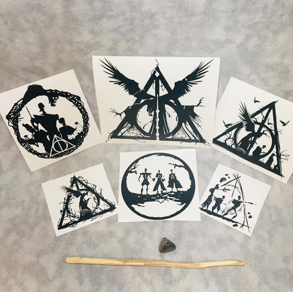 Learned in the Magical Arts, vinyl decal inspired by The Tales of Beedle the Bard by JK Rowling