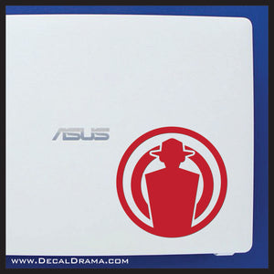 Target Dummy plasmid, Bioshock-inspired Vinyl Decal