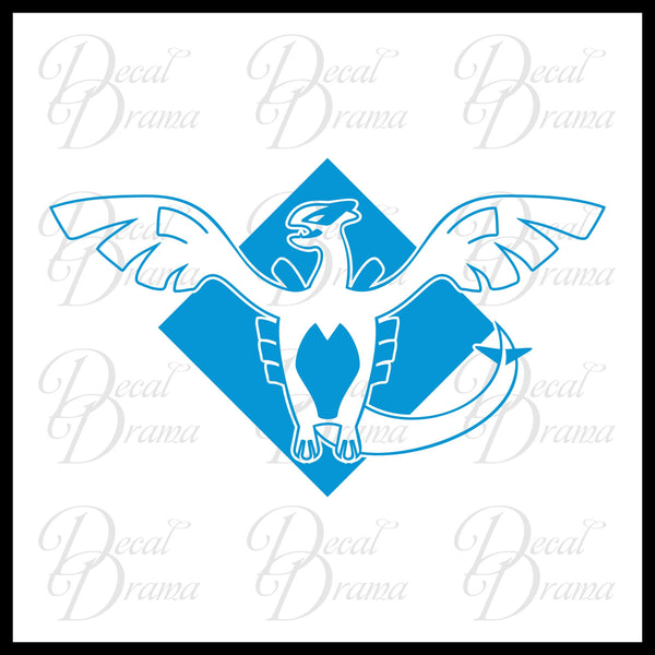 Team Harmony emblem Pokemon, PokemonGO Vinyl Car/Laptop Decal