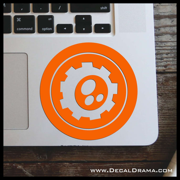 Tech Elemental, Skylander-inspired Vinyl Car/Laptop Decal