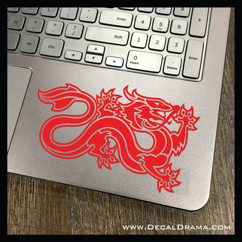 The Dragon Reborn Banner, Wheel of Time-inspired Vinyl Car/Laptop Decal