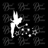 Tinkerbell Magic, Disney-inspired Fan Art Vinyl Car/Laptop Decal