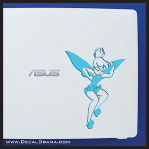 Tinkerbell Tantrum, Disney-inspired Fan Art Vinyl Car/Laptop Decal