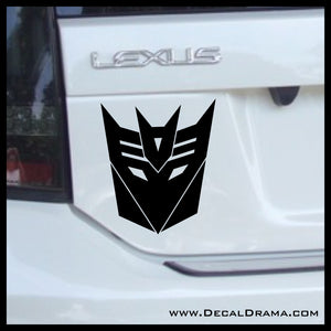 Transformers Decepticon Vinyl Car/Laptop Decal