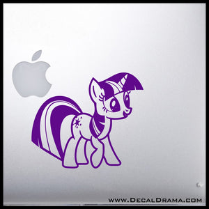Twilight Sparkle, My Little Pony-inspired Vinyl Car/Laptop Decal