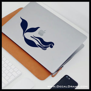 Under the Sea Mermaid Vinyl Car/Laptop Decal