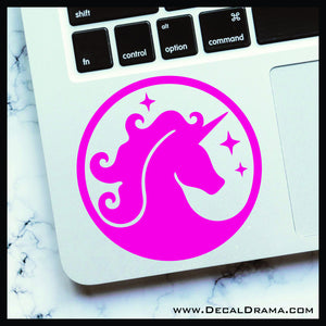 Unicorn cartoon Vinyl Car/Laptop Decal
