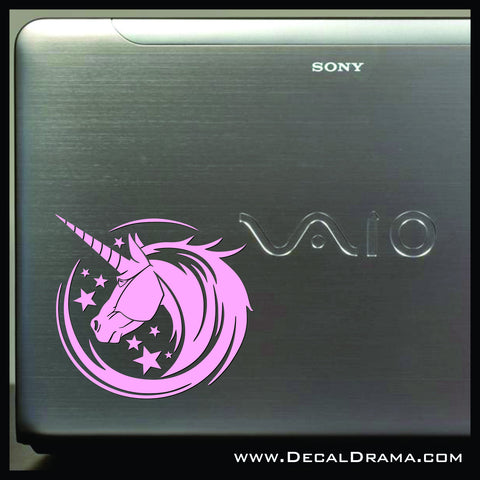 Unicorn Magic Stars Vinyl Car/Laptop Decal