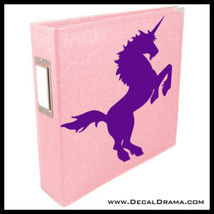 Unicorn Rearing Vinyl Car/Laptop Decal