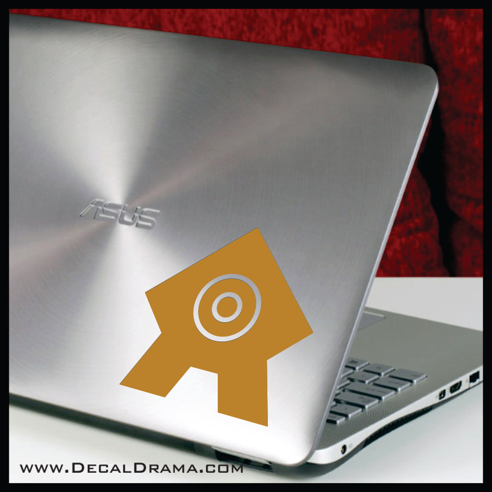 United Republic of Nations icon, Avatar The Last Airbender-inspired Vinyl Car/Laptop Decal