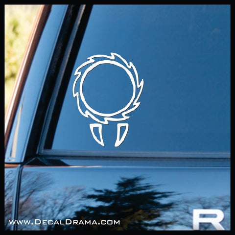 Vampire Gylph, The Vampire Diaries-inspired Vinyl Car/Laptop Decal