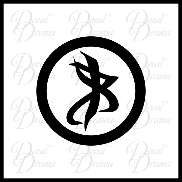Vision Rune, inspired by Mortal Instruments Vinyl Car/Laptop Decal