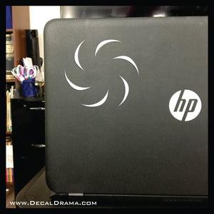 Void Aspect symbol Homestuck-inspired Vinyl Car/Laptop Decal