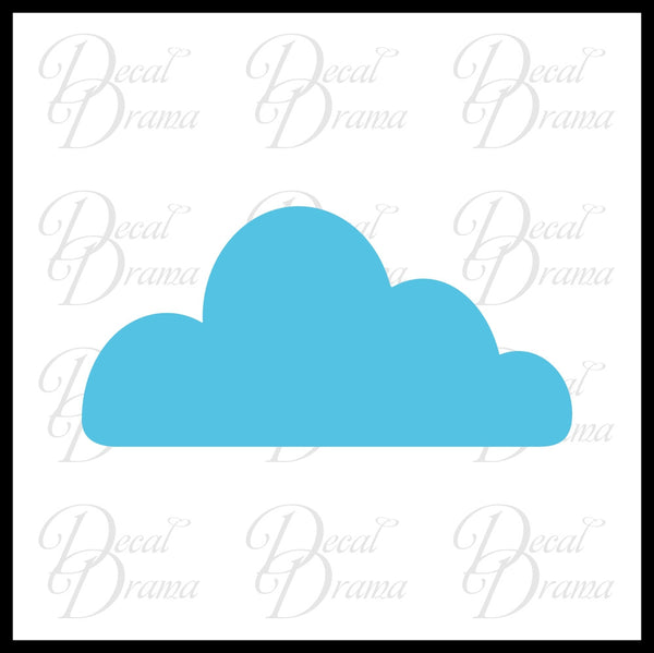 Clouds, Room Décor Vinyl Wall Decal