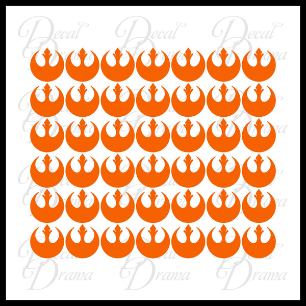 Rebel Alliance emblems, Room Décor Vinyl Wall Decal