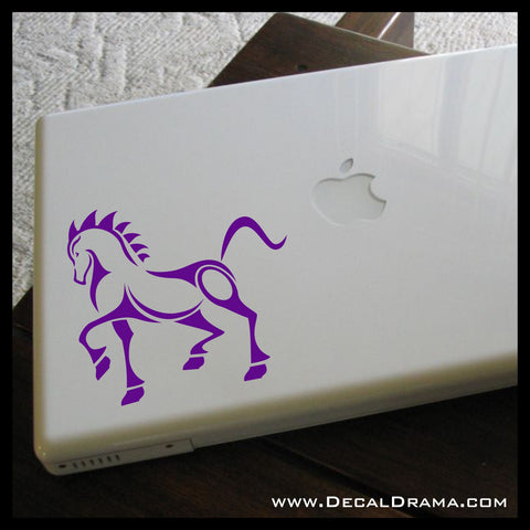 War Horse Cavalry Stallion Vinyl Car/Laptop Decal