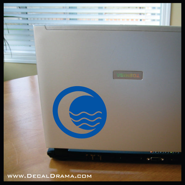 Water Tribe of the Four Nations, Avatar The Last Airbender-inspired Vinyl Car/Laptop Decal