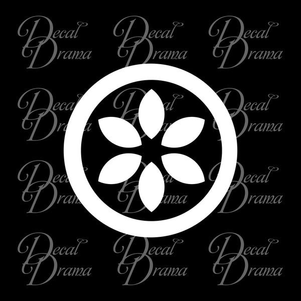 Water emblem Legend of Zelda Decal Vinyl Car/Laptop Decal