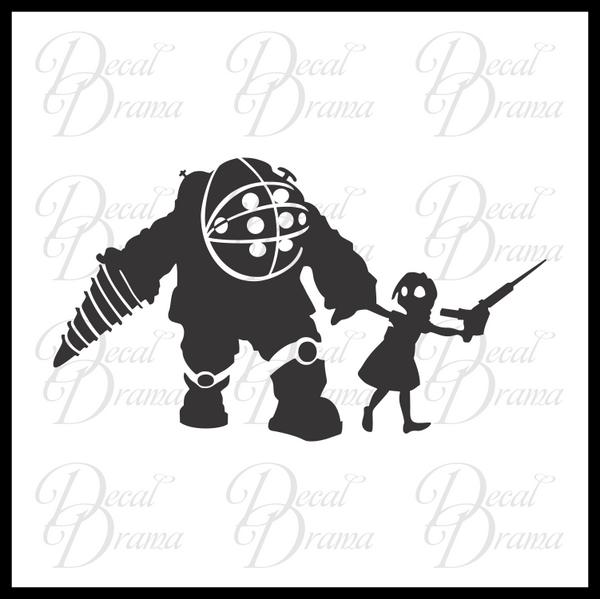 What's Over There, Big Daddy?, Bioshock-inspired Vinyl Decal
