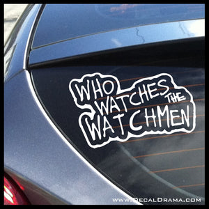 Who Watches the Watchmen, Watchmen-inspired Fan Art, DC Comics Vinyl Car/Laptop Decal