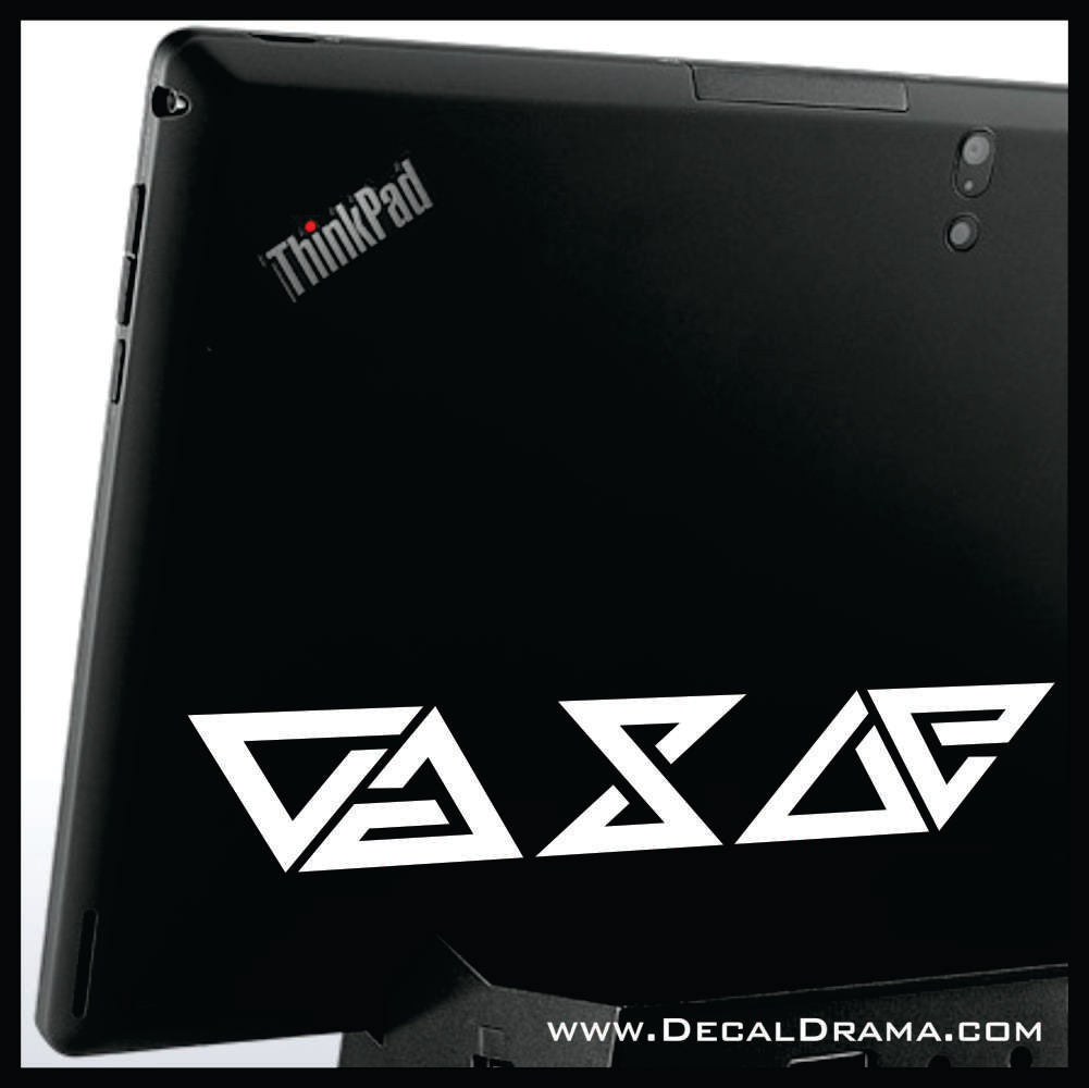 The Witcher sign glyphs SET Car/Laptop Decal