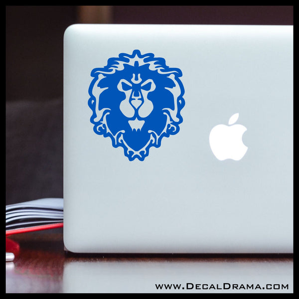 Alliance symbol, WoW World of Warcraft-inspired Car/Laptop Decal