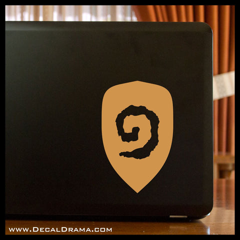 Hearthstone symbol, WoW World of Warcraft-inspired Car/Laptop Decal