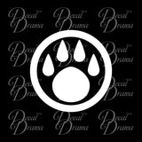 Monk Paw symbol, WoW World of Warcraft-inspired Car/Laptop Decal