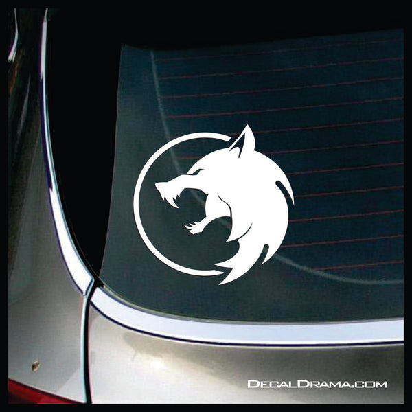 Wolf Medallion, The Witcher Netflix-inspired Car/Laptop Decal