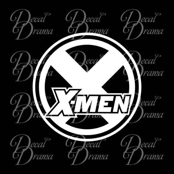 X-Men emblem, Classic X-Men-Inspired Fan Art Vinyl Car/Laptop Decal