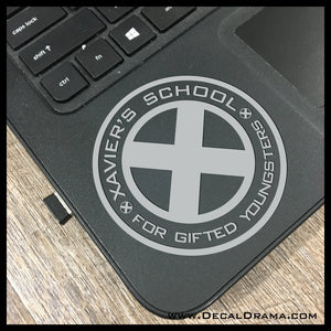 Xavier's School for Gifted Youngsters, Classic X-Men-Inspired Fan Art Vinyl Car/Laptop Decal