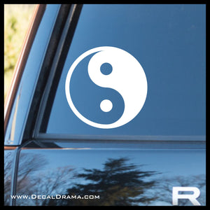 Yin and Yang symbol Vinyl Car/Laptop Decal