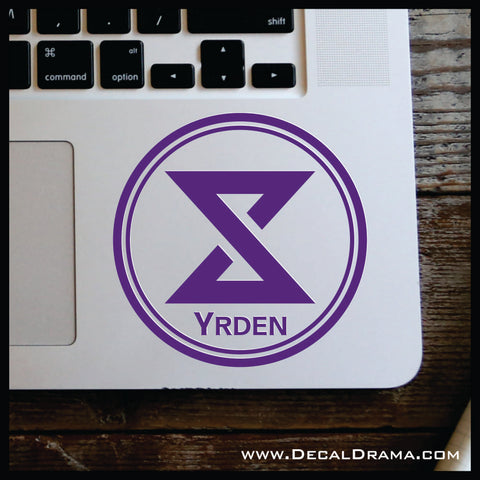 Yrden sign glyph, The Witcher-inspired Car/Laptop Decal