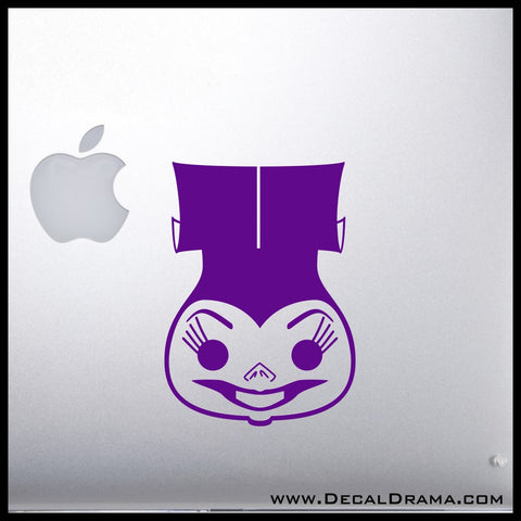 Yzma Chibi, Emperor's New Groove Villain, Vinyl Car/Laptop Decal