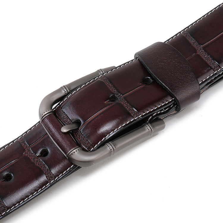 Exotic Gator Leather Belt