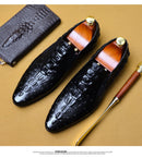 leather genuine leather oxford slipon leather brogues Shoes