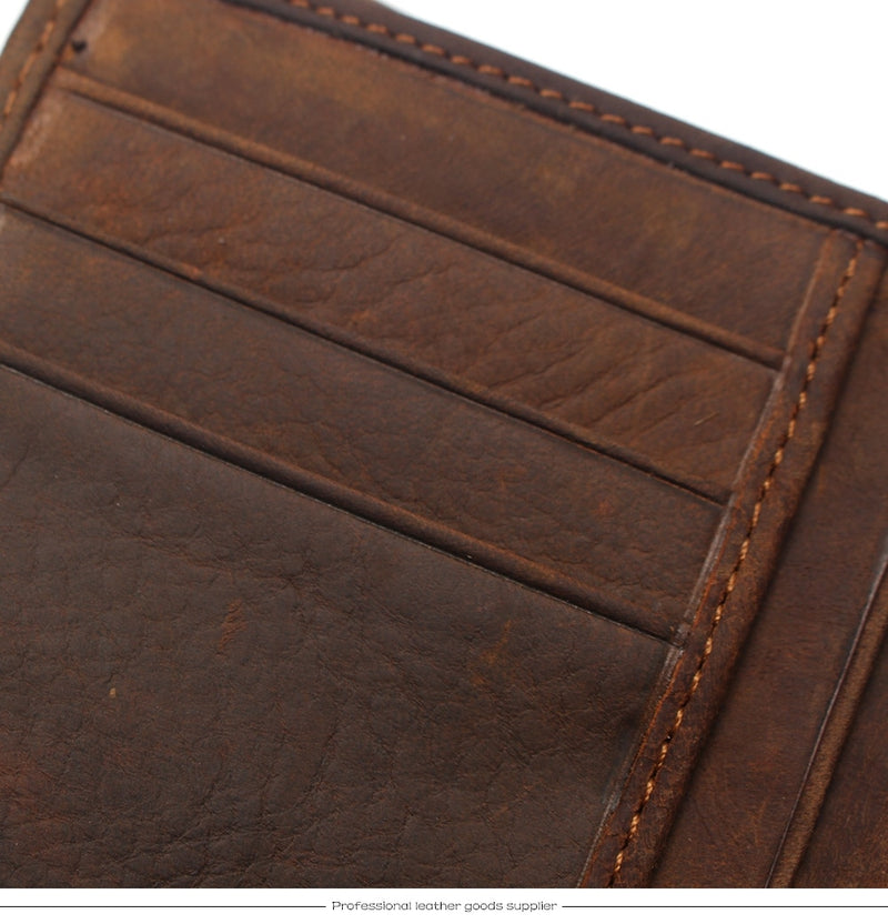 Crocodile Tail Style Series Leather Wallet