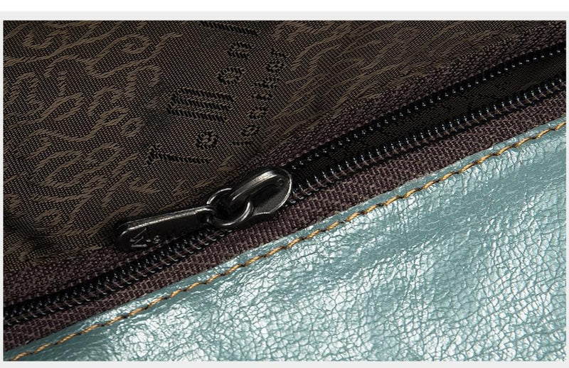 Exotic Crocodile Pattern Leather Zipper Short Clutch Wallet