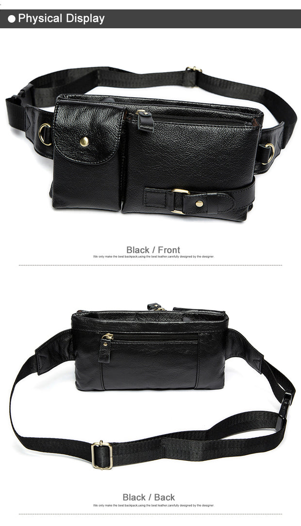 Leather Waist & Shoulder Bag